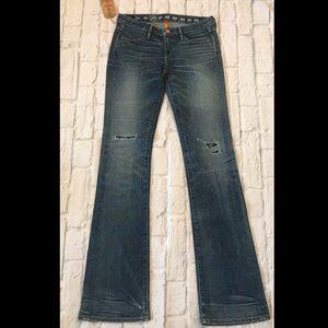 NWT Earnest Sewn Keaton Bandana Jeans